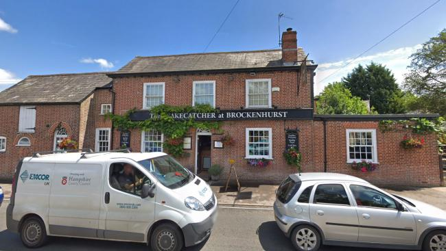 The Snakecatcher pub in Brockenhurst. Picture: Google Street View