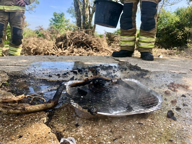 Fire crews have been called to another spate of fires involving bonfires and barbecues.