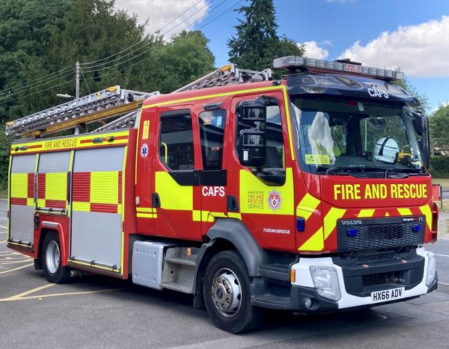 Crews have been called to grass fires at Blackfield and Fordingbridge.
