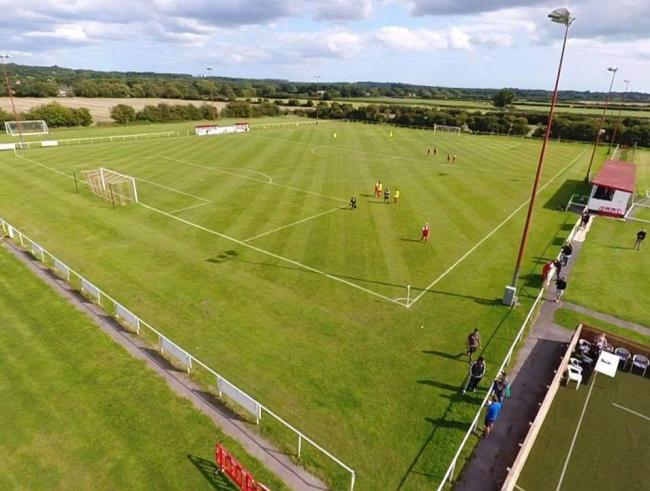 Fans will be allowed into some non-league grounds from this weekend (Picture: Ringwood Town FC)