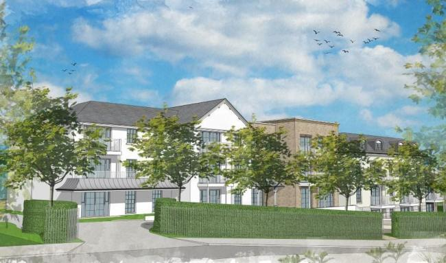 A computer-generated image of the proposed development at Stanford Hill, Lymington. Picture: Renaissance Retirement.
