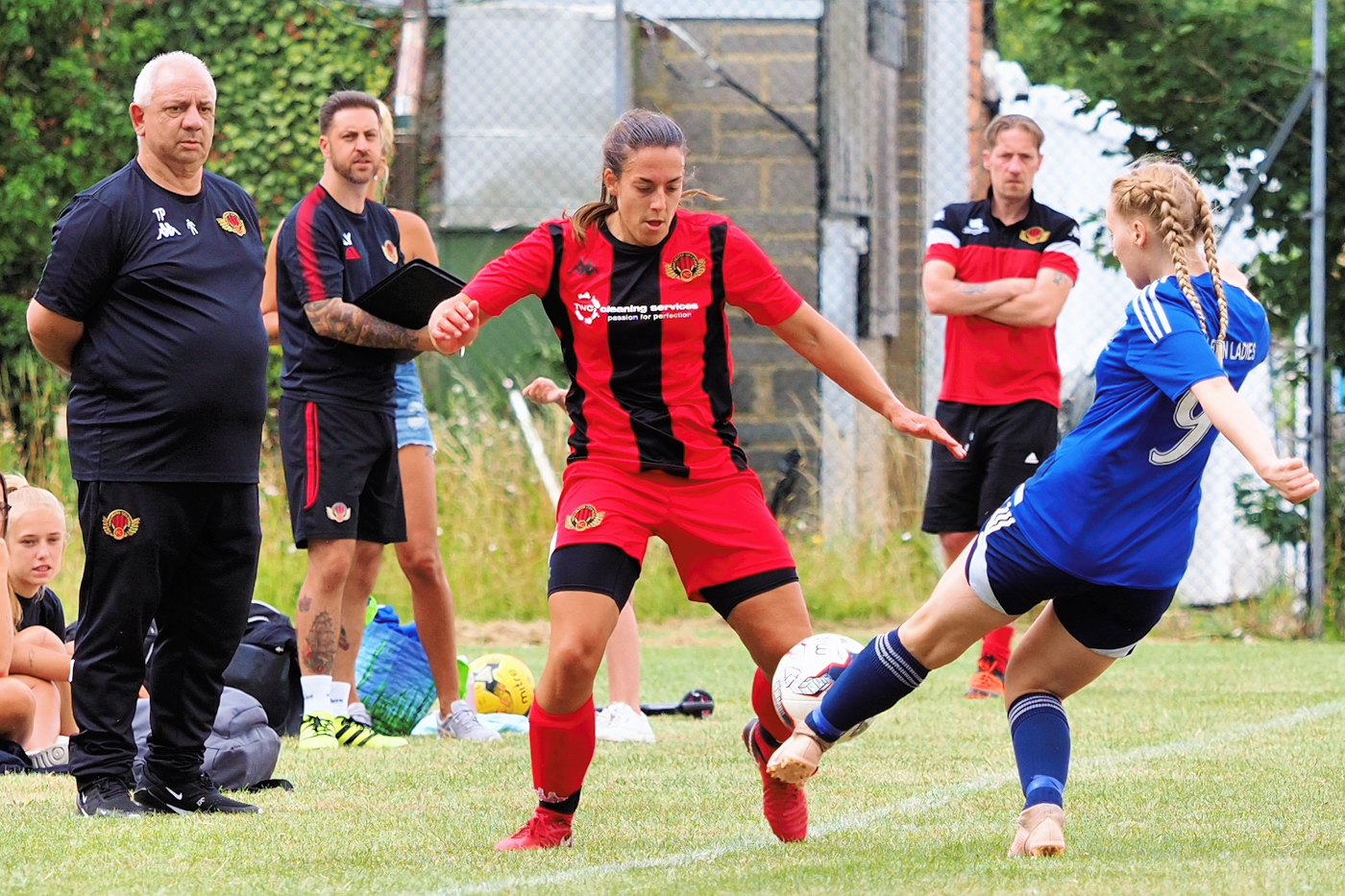 Becky Harris vs Bursledon. Picture by Gary Marsh
