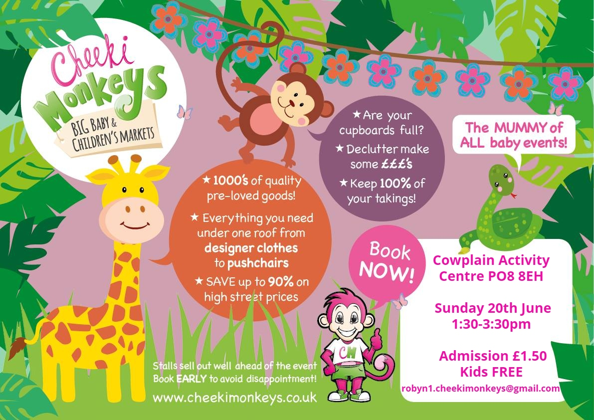 Cheeki Monkeys BIG Baby and Children's Market WATERLOOVILLE