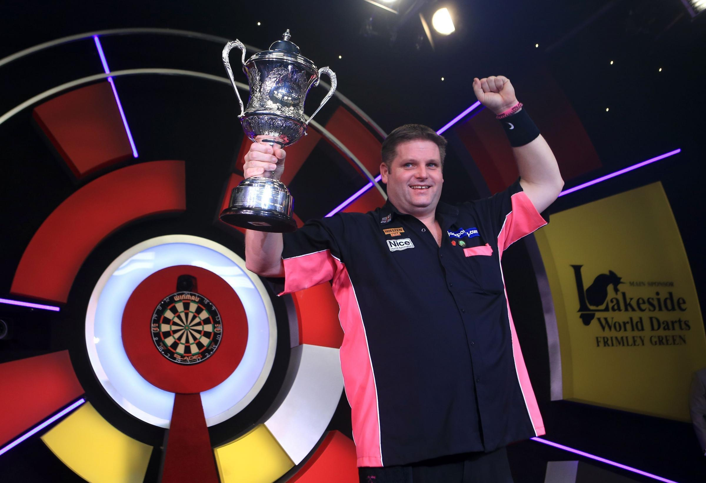 Scott Mitchell wins the BDO Lakeside World Professional Darts - pictures