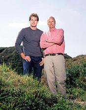 New Forest Post: Historian Dan Snow, with father Peter, is related to former PM Lloyd George.