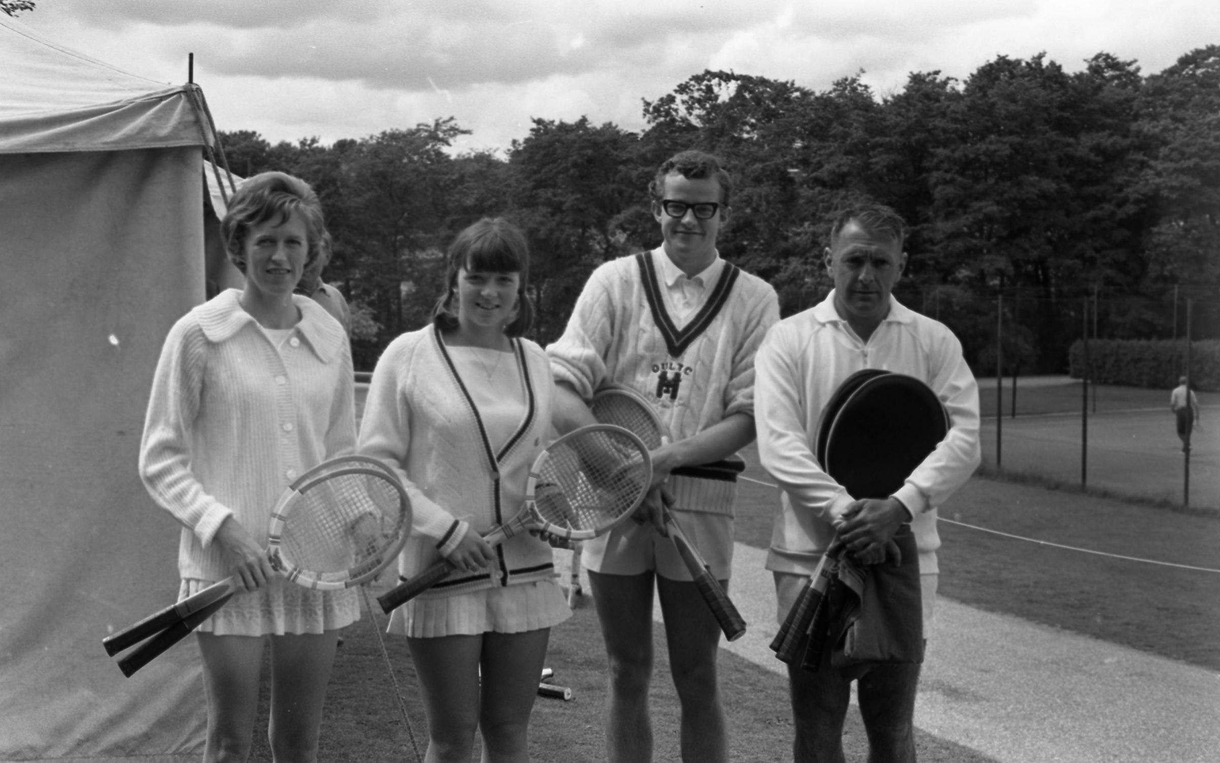 July 1968 - Tennis finals at Southampton Sports Centre.
