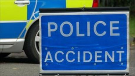 A cyclist was seriously injured in a crash at Calmore.
